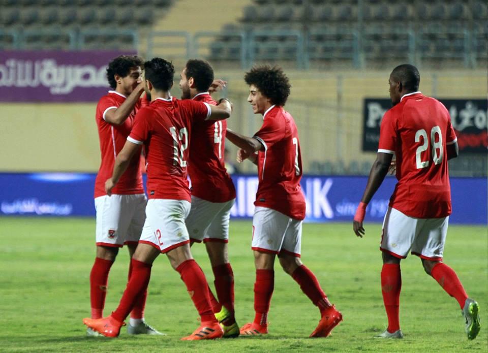 يكتسح تليفونات بني سويف بخماسية في كأس مصر