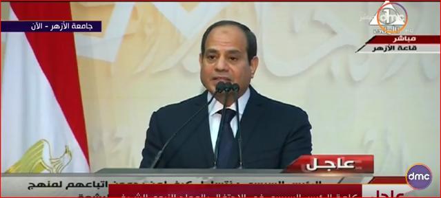 مصر تواجه حرب تدعمها قوة خارجية