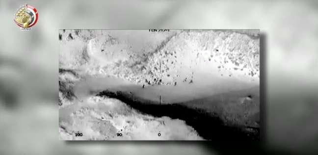 المسلحة تبث فيديو جديد للقضاء على بقية «إرهابيي الواحات»