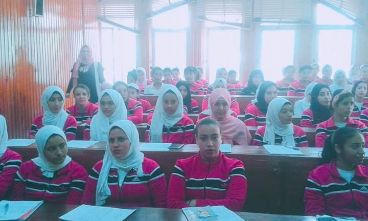 تدريبي عن الإسعافات الأولية لطلاب الجامعة ومواطني قرى الشرقية2