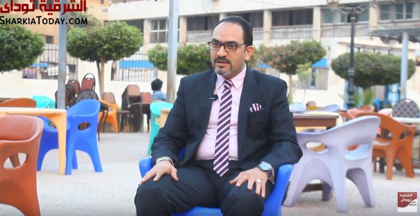 على «أشرف الحجار» المرشح لرئاسة نادي الشرقية