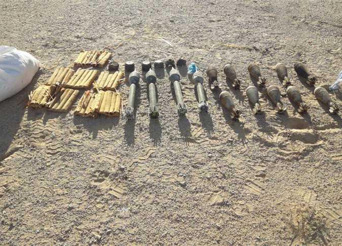 ضبط «مخزن تكفيري» وسط سيناء3