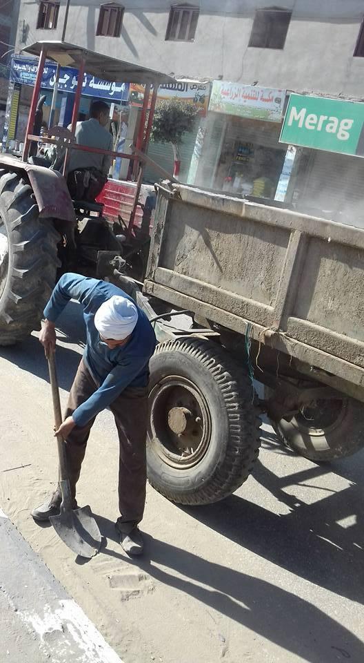 نظافة مكثفة بمدينة الحسينية