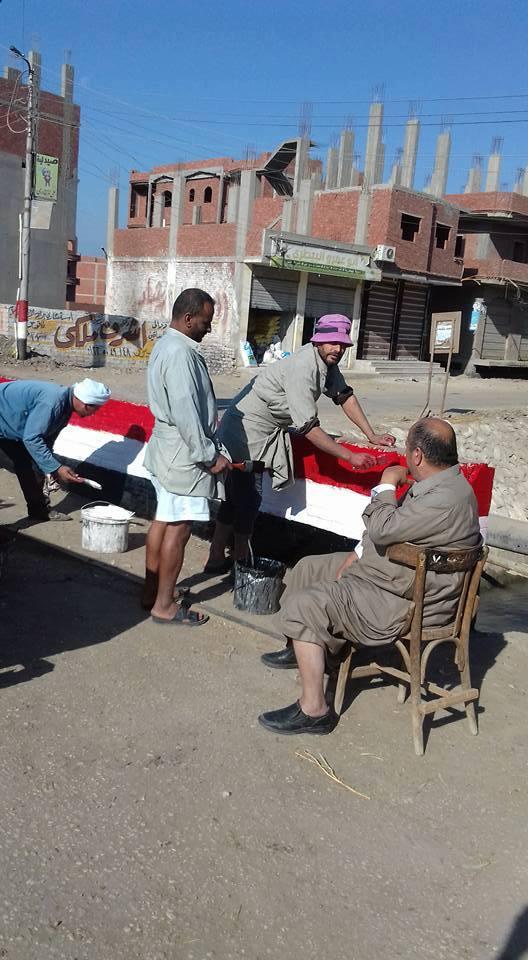 نظافه مكثفة بمدينة الحسينية