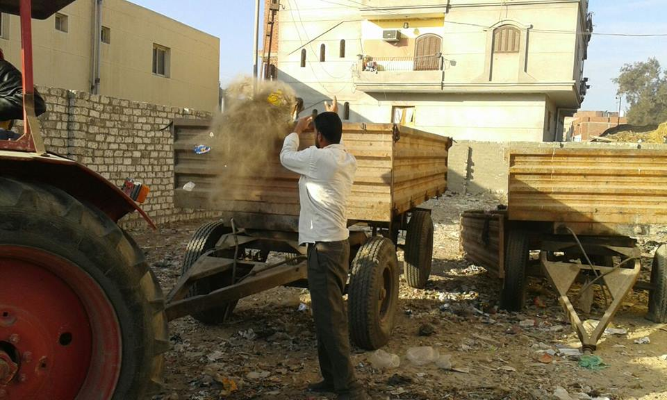نظافة مكبرة بمدينة الحسينية 1