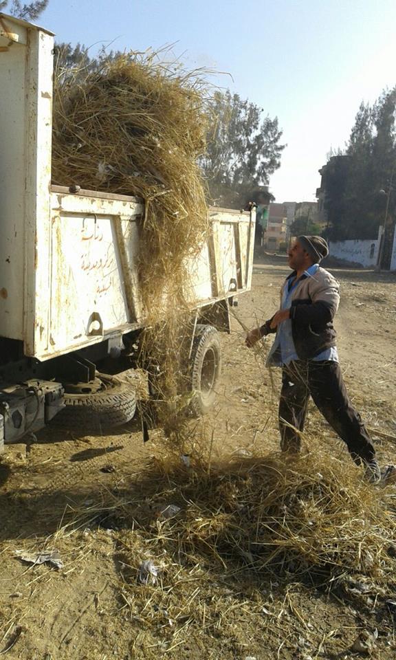 نظافة مكبرة بمدينة الحسينية 2