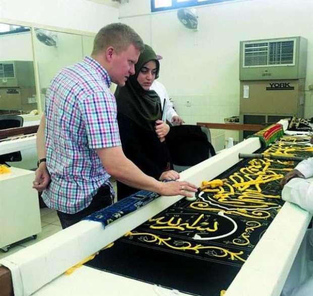 ألماني يختار مكة المكرمة لقضاء شهر العسل مع زوجته 2
