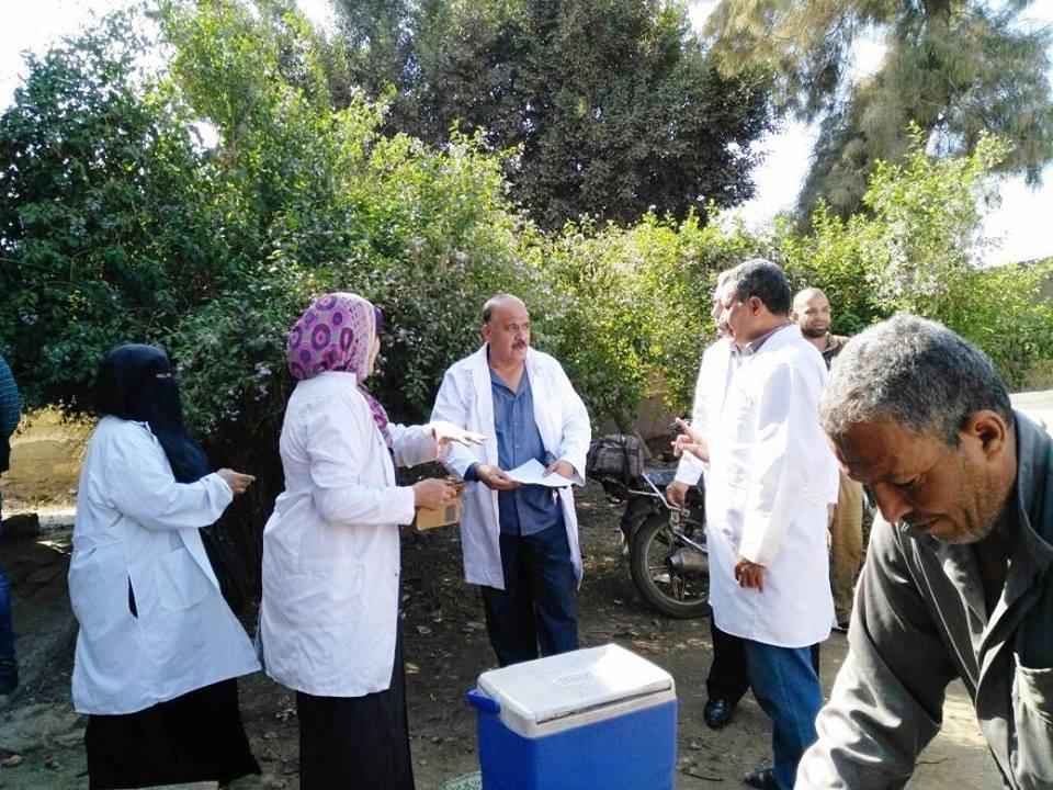 طبية بيطرية بمنيا القمح لتوعية المواطنين 2