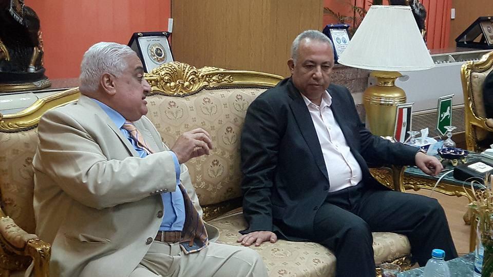 الشرقية يستقبل مجلس إدارة نادى الشرقية الجديد بديوان عام المحافظة 1