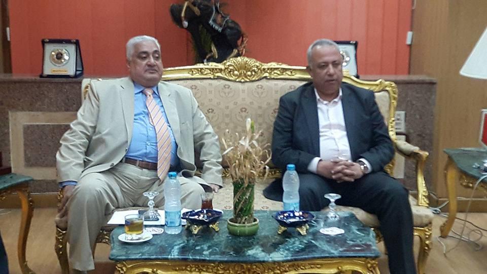 الشرقية يستقبل مجلس إدارة نادى الشرقية الجديد بديوان عام المحافظة 2