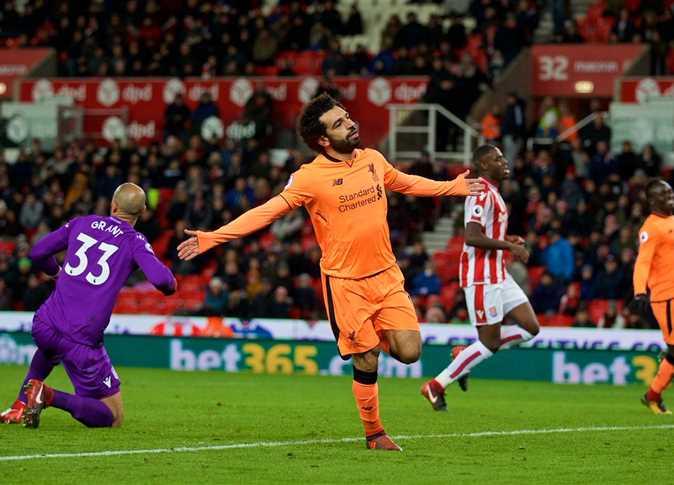 صلاح يسجل هدفين في فوز ليفربول على ستوك بثلاثية