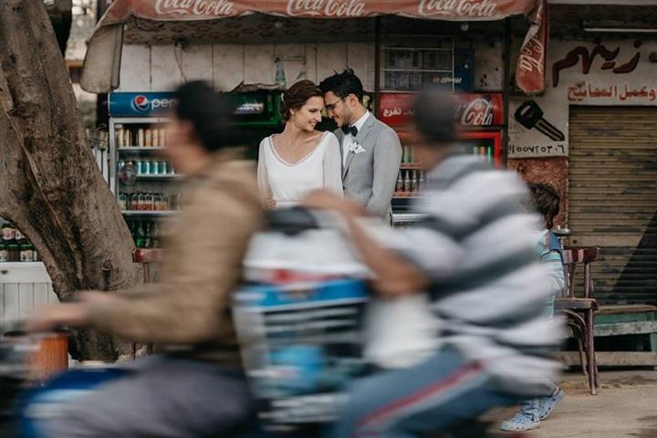 يتزوج ألمانية وجلسة تصوير مبهرة في شوارع القاهرة 4