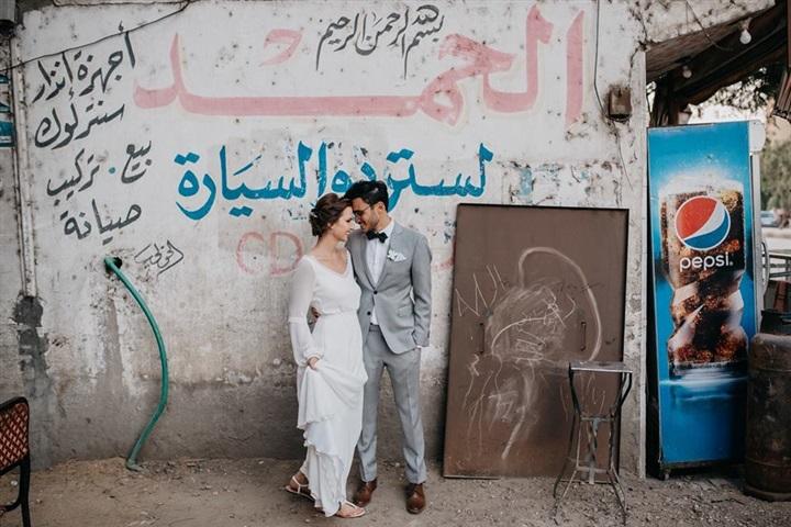 يتزوج ألمانية وجلسة تصوير مبهرة في شوارع القاهرة 5