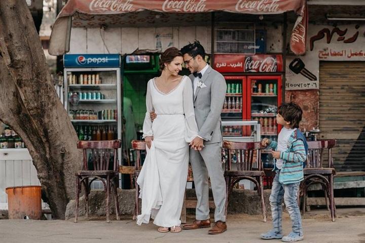 يتزوج ألمانية وجلسة تصوير مبهرة في شوارع القاهرة 6