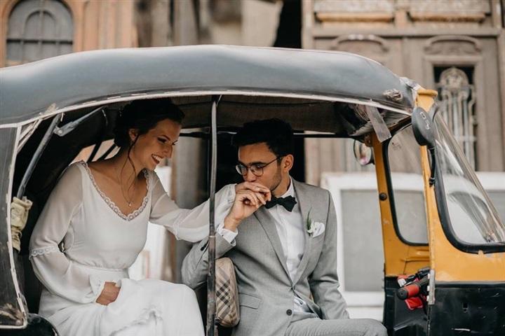 يتزوج ألمانية وجلسة تصوير مبهرة في شوارع القاهرة 9
