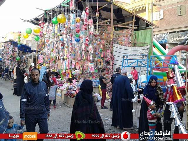 احتفالات أهالي كفر صقر تحتفل بالمولد النبوي 2