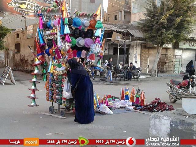 احتفالات أهالي كفر صقر تحتفل بالمولد النبوي 3