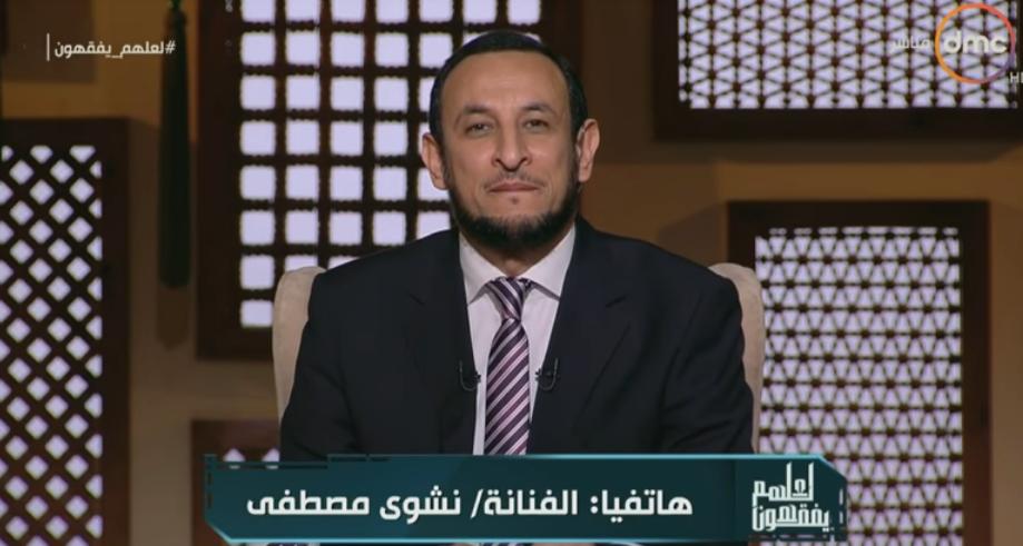 مصطفى تحرج داعية إسلامي على الهواء بهذا الطلب