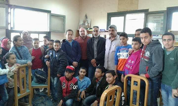 أبو حماد تحتفل بالمولد النبوي الشريف وأعياد الطفولة