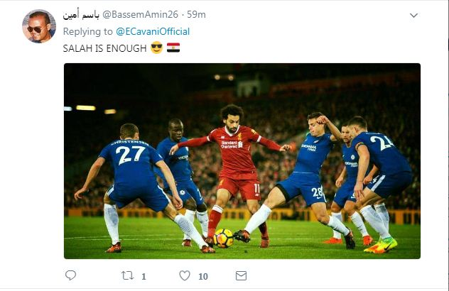 مصر تغزو الحساب الرسمي لكافني على فيس بوك 1