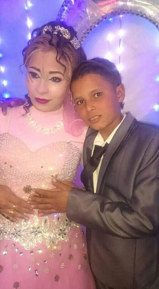 أصغر عروسين