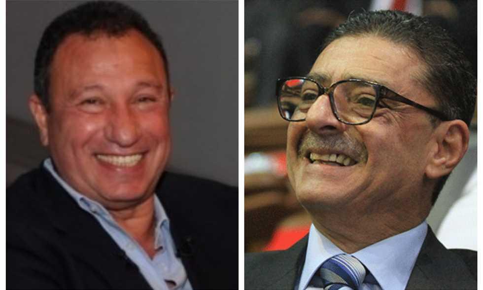 الخطيب يوجه رسالة إلى طاهر بعد الفوز برئاسة الأهلي