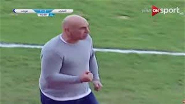 مسيئة من حسام حسن بعد انتهاء مباراة المصري وبتروجيت