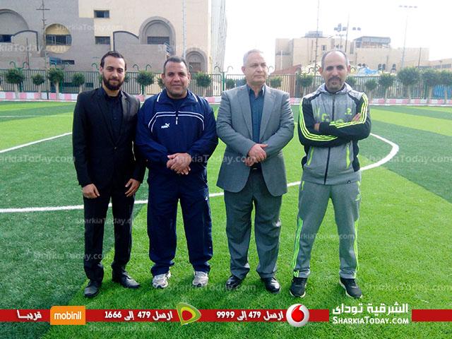 افتتاح ملعب كرة القدم بمركز شباب ناصر بعد تجديده 2