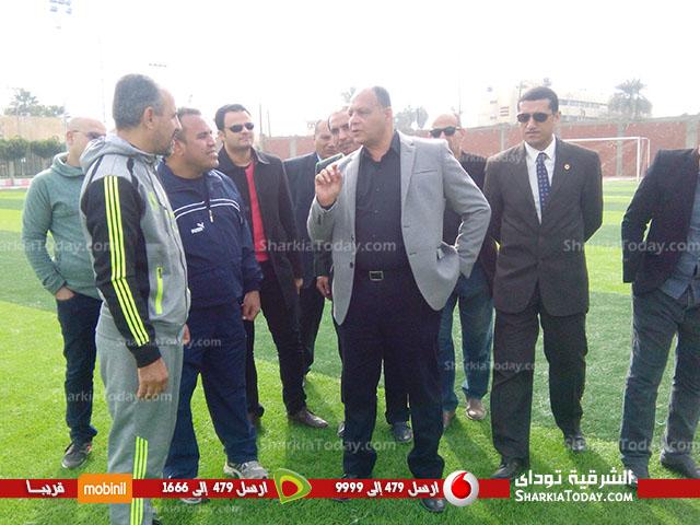 افتتاح ملعب كرة القدم بمركز شباب ناصر بعد تجديده 3