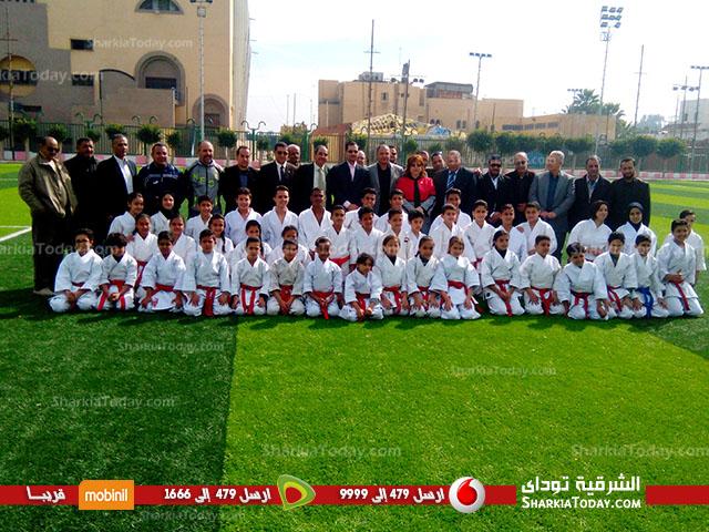 افتتاح ملعب كرة القدم بمركز شباب ناصر بعد تجديده 5