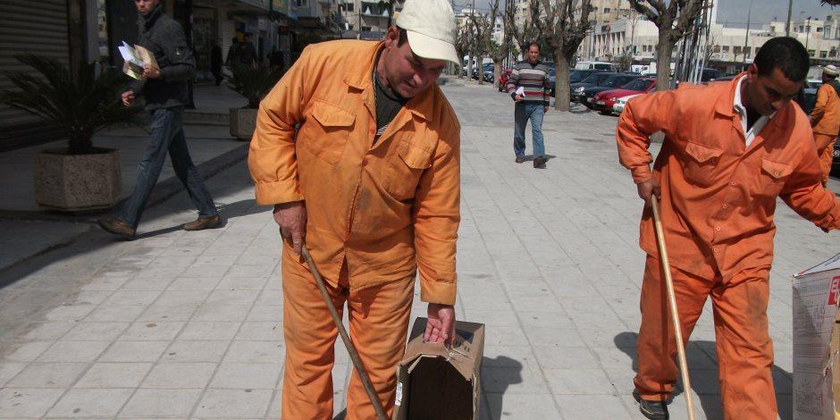 مبادرة شبابية لتنظيف شوارع الشرقية