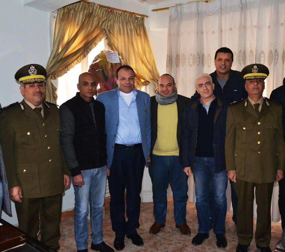 «من أجل مصر» تكرم ضباط الشرطة المتميزين بأبوكبير 2