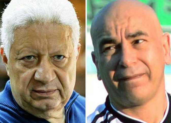 المصري يعلق على الأزمة بين مرتضى منصور وحسام حسن