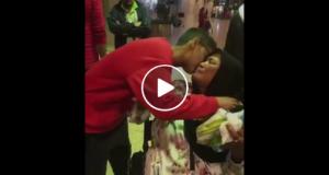 قصة أم إسحاق الخادمة التي أبكت عائلة سعودية في المطار
