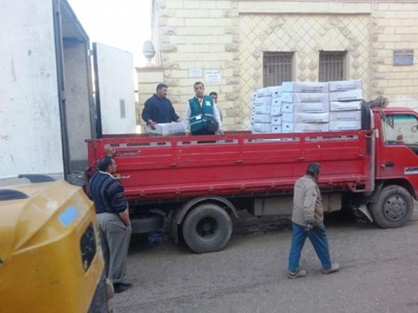 «بالهنا و الشفا» لتوزيع 40 ألف كرتونة مواد غذائية علي الأسر الفقيرة 1