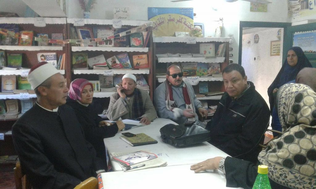 عن «الأخلاق ومكافحة الإرهاب» بمكتبة كفر صقر الثقافية 1