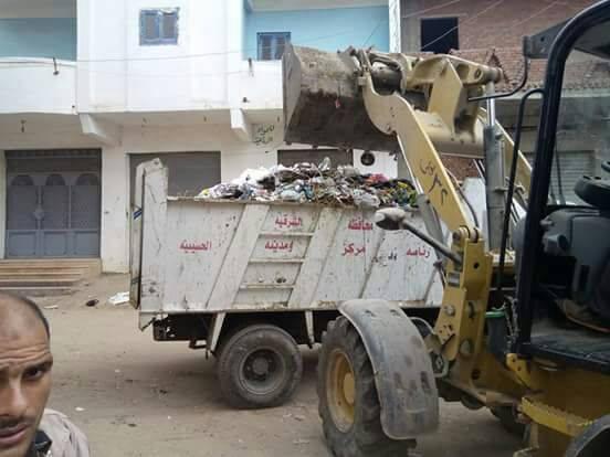 حملات النظافة بمدينة الحسينية