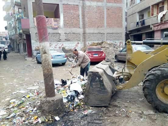 حملات النظافة بمدينة الحسينية1