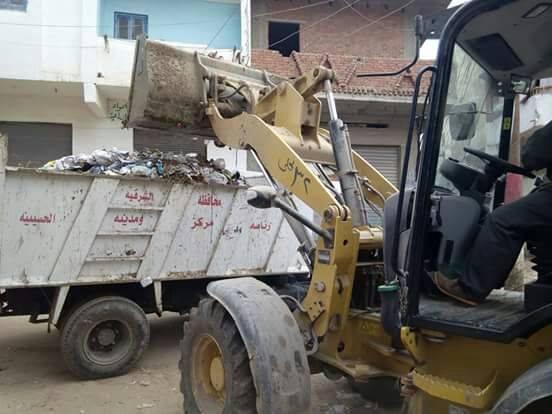 حملات النظافة بمدينة الحسينية2