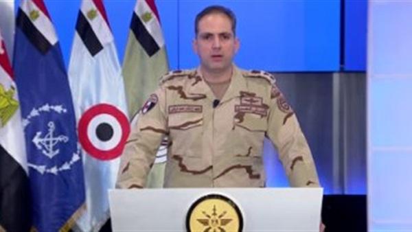 المتحدث العسكري يرد على هيومان رايتس ووتش