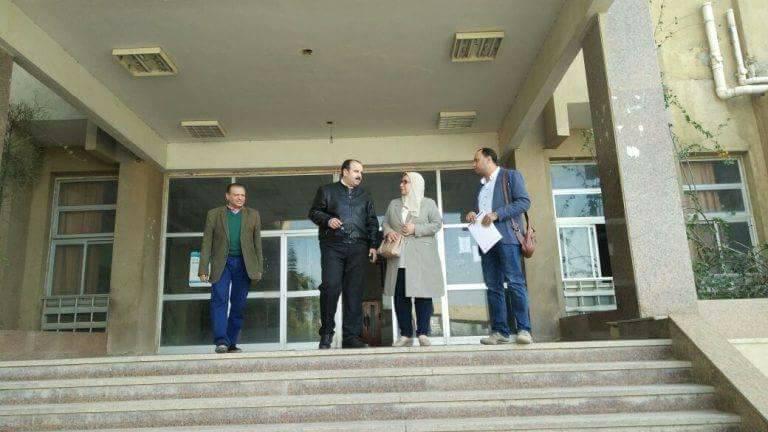 وزارة الصحة يرصد تطوير الخدمات الطبية بمستشفى العاشر للتأمين الصحي1