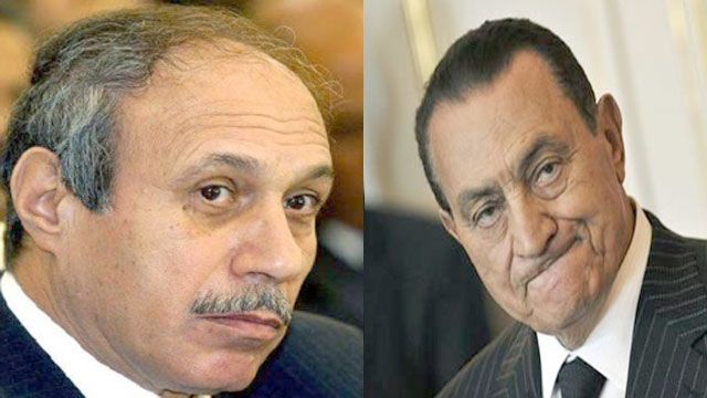 Image result for مبارك وحبيب العادلي