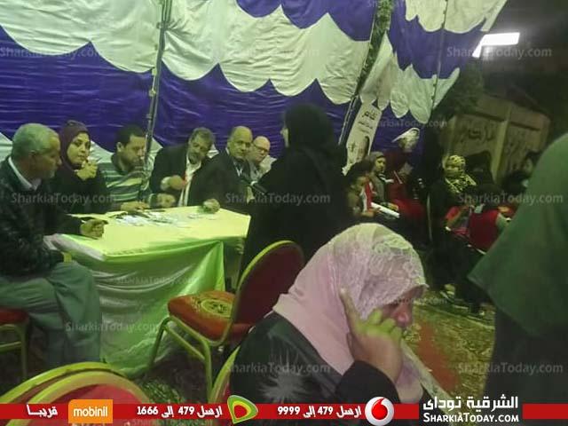 الإقبال على التصويت بلجان فاقوس قبل دقائق من غلق التصويت 3