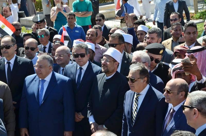 جامعة الزقازيق يشارك في احتفالات جنوب سيناء