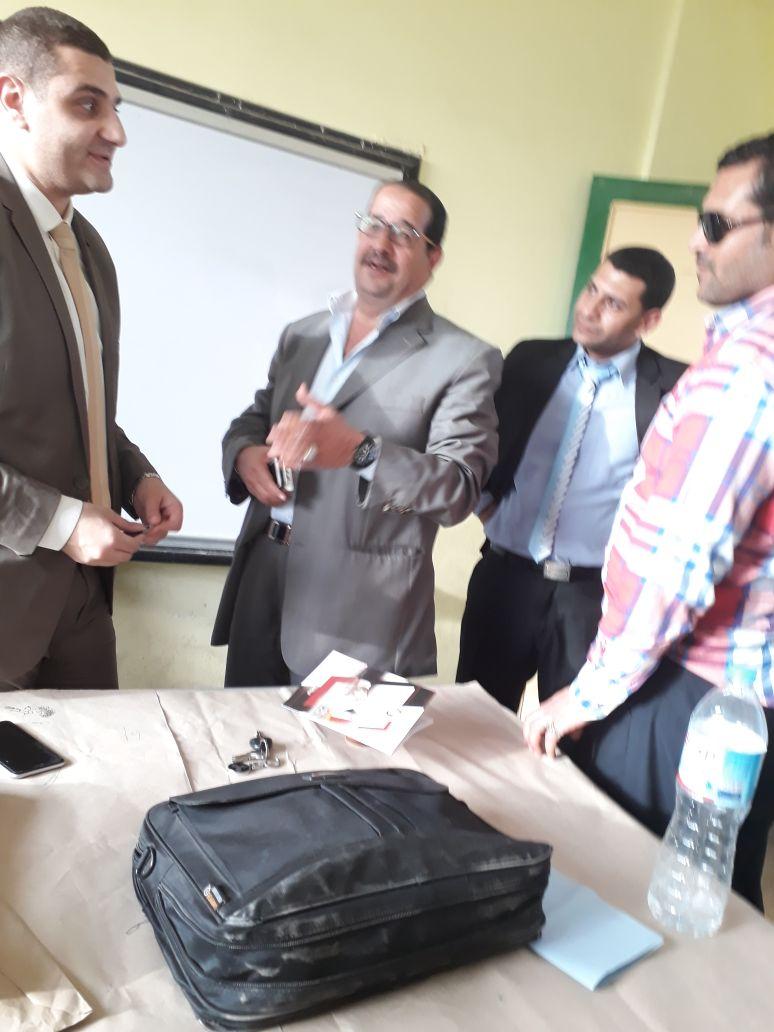 عفيفي عضو النقابة العام للمحامين يتابع لجان انتخابات الرئاسة بالشرقية 2