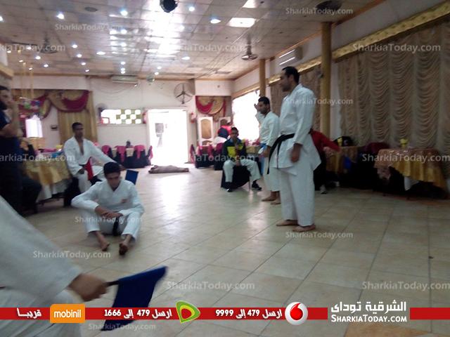 اليوم التاني لتدريب حكام منطقة الشرقية للكاراتيه 3