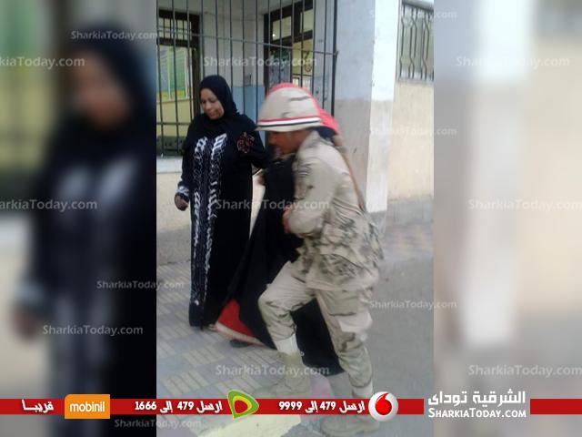 انتخابات الرئاسة المصرية 2018 بلجان الحسينية بمحافظة الشرقية