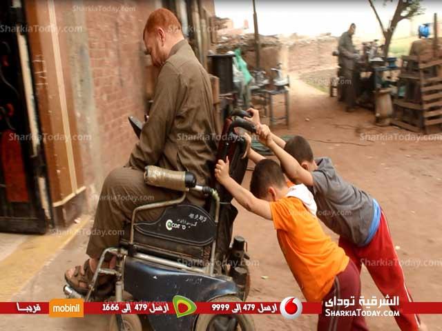من ذوي الاحتياجات الخاصة يستغيث بالسيسي بسبب الاستيلاء على سكنه 2