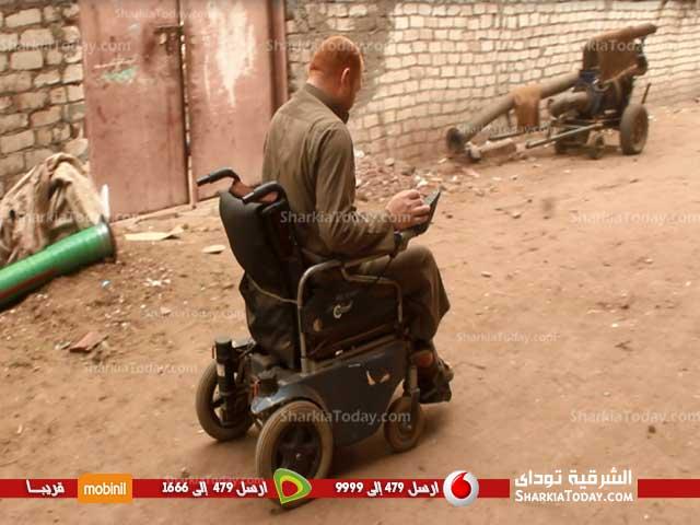 من ذوي الاحتياجات الخاصة يستغيث بالسيسي بسبب الاستيلاء على سكنه 5