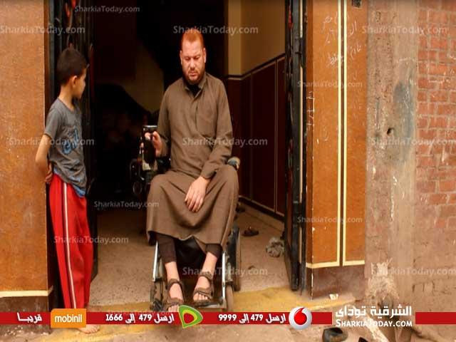 من ذوي الاحتياجات الخاصة يستغيث بالسيسي بسبب الاستيلاء على سكنه 6